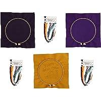 FAVOMOTO 3 Sets Kruissteek Draad Halloween Thema Borduren Tool Borduurwerk Cirkel