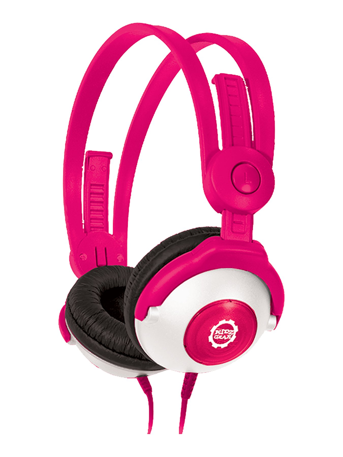 Kidz Gear Wired Headphones For Kids – Pink by Kidz Gear