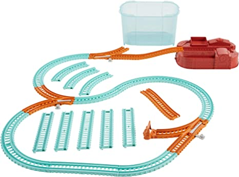 Thomas /& Friends Track Master Builder Seau 25 Pièces Railway Box Set Playset