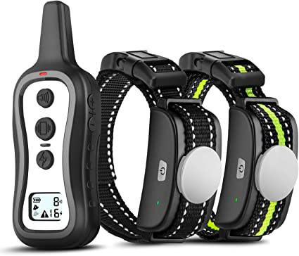Bousnic Dog Training Collar with Remote for 2 Dogs