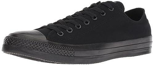 Ctas, Unisex Adults Low-Top Sneakers - Black (Black Mono) - 8 UK (41.5 EU) Converse