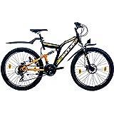LEADER Mountainbike Chicago, 26 Zoll, 21 Gang, Scheibenbremse 66,04 cm (26 Zoll)