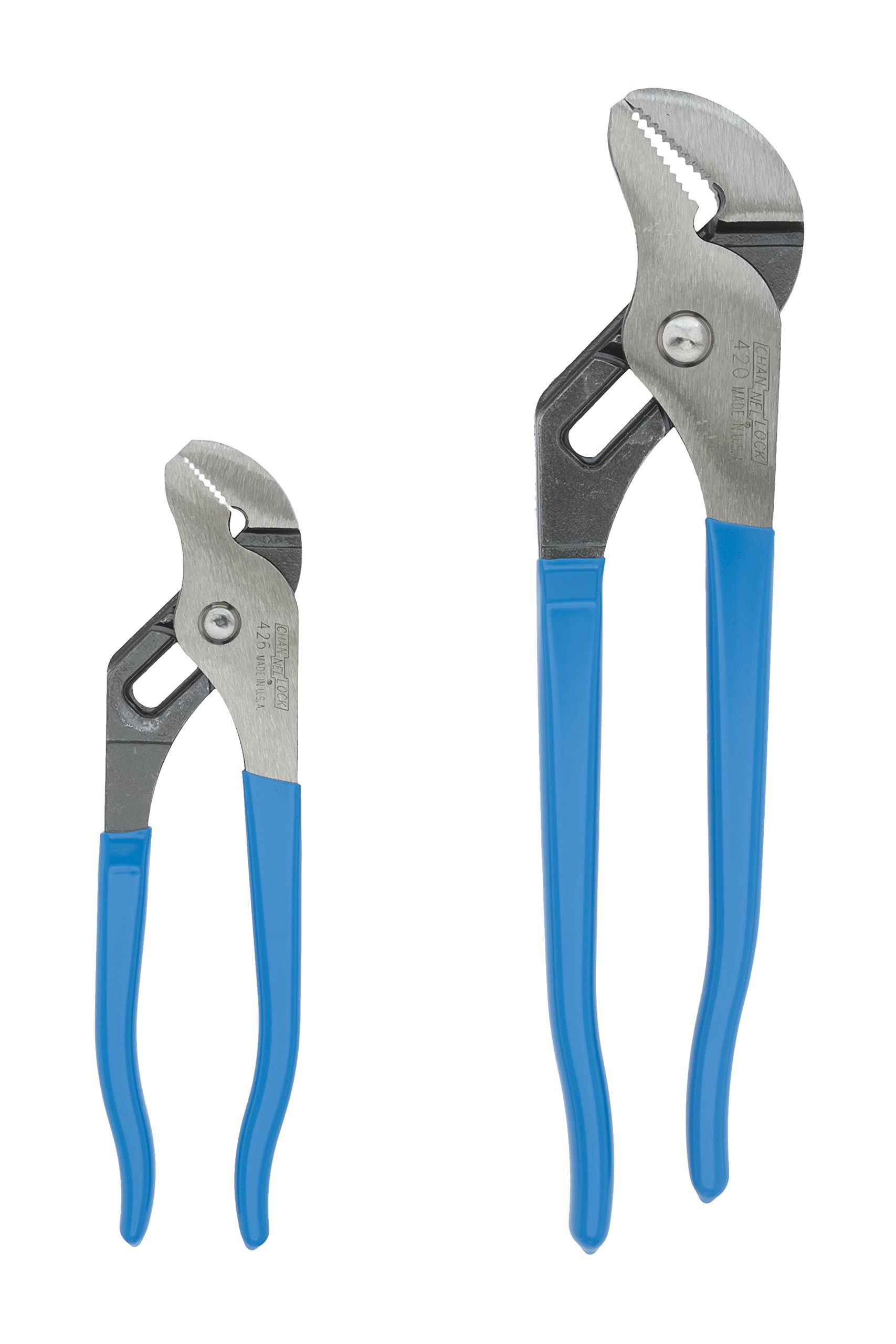 Channellock GS-1 2 Piece 9-1/2-Inch and 6-1/2-Inch Tongue and Groove Plier Set by Channellock (Image #1)