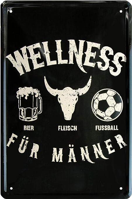 Blech Bienestar para Hombres - Cerveza Carne de fútbol 20 X ...