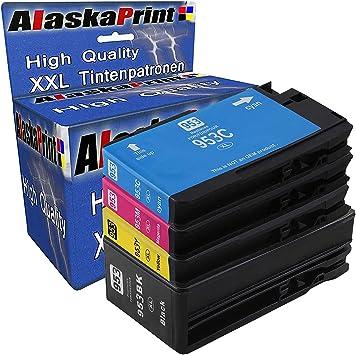 Alaskaprint 4 Compatible para HP 953XL 953 Cartuchos con HP ...