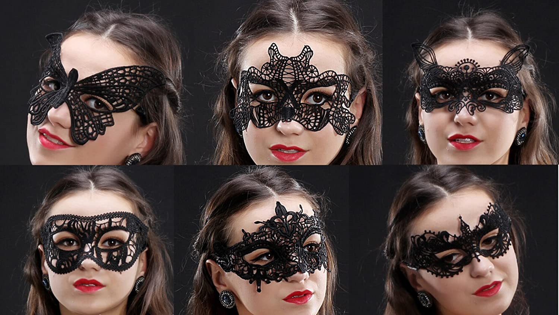 Amazon.com: Venetian Masquerade Mask,15 Pack Gellwhu Women Sexy ...