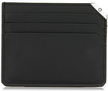 Montblanc 114674 Urban Spirit - Estuche de Piel (6 CC), Color Negro: Amazon.es: Oficina y papelería