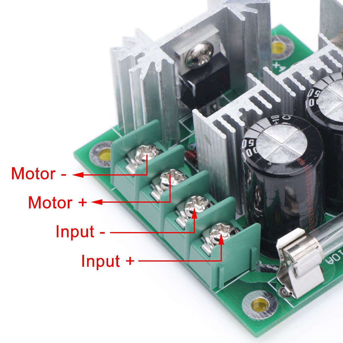 Motor Controller Drok 13khz Pwm Speed Control Board Dc 12v Circuit With Explanation Electronic 40v 24v 36v 10a Motors Electric Pump Fan Stepless Regulator Module Reverse