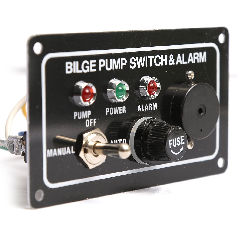 TMC - Panel con interruptor y alarma para bomba de achique ...