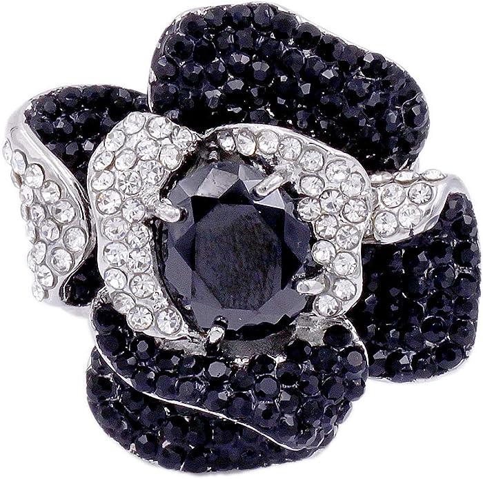 Ring slim minimal slowfashion vintage cocktail Ring Boh\u00e9me ethical-jewelry art-nouveau art and craft schwarz rotgold Leder