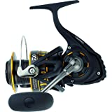 "Daiwa BG2500 BG Saltwater Spinning Reel, 2500, 5.6: 1 Gear Ratio, 6+1 Bearings, 33.20"" Retrieve Rate, 13.20 lb Max Drag…"