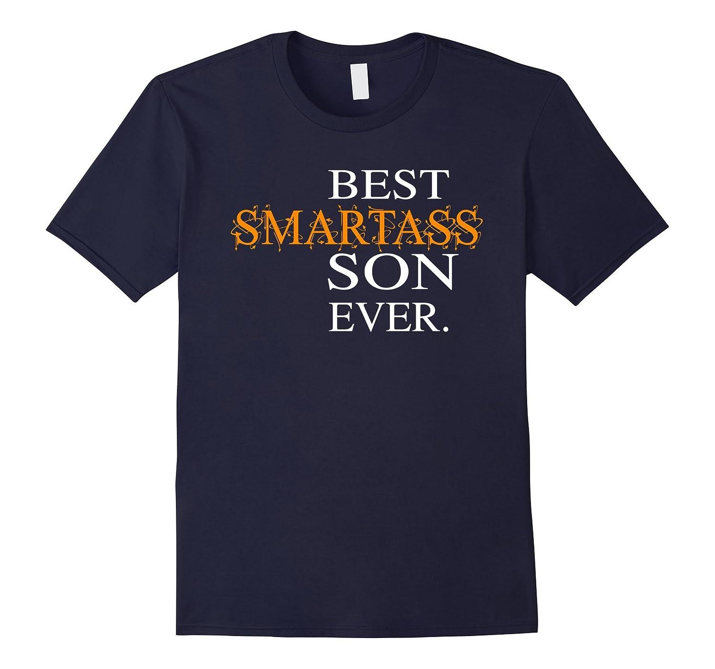 Funny Best Smartass Son Ever T-Shirt Gift Halloween-T-Shirt