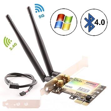 Amazon.com: Ubit 300 Mbps PCI Wireless Dual-Band 300 Mbps ...