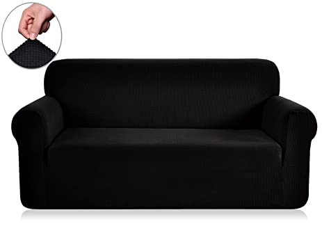 Amazon Chunyi Jacquard Sofa Cover 1 Piece Polyester Spandex