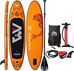 Aqua Marina Fusion Inflatable Stand Up Paddle Board 2019 UPGRADED iSUP 104