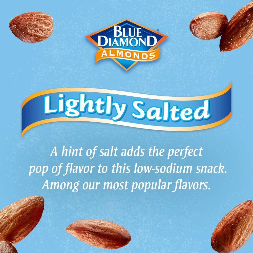 Blue Diamond Almonds On the Go 100 Calorie Packs, Lightly Salted, 12 Count by Blue Diamond Almonds (Image #6)