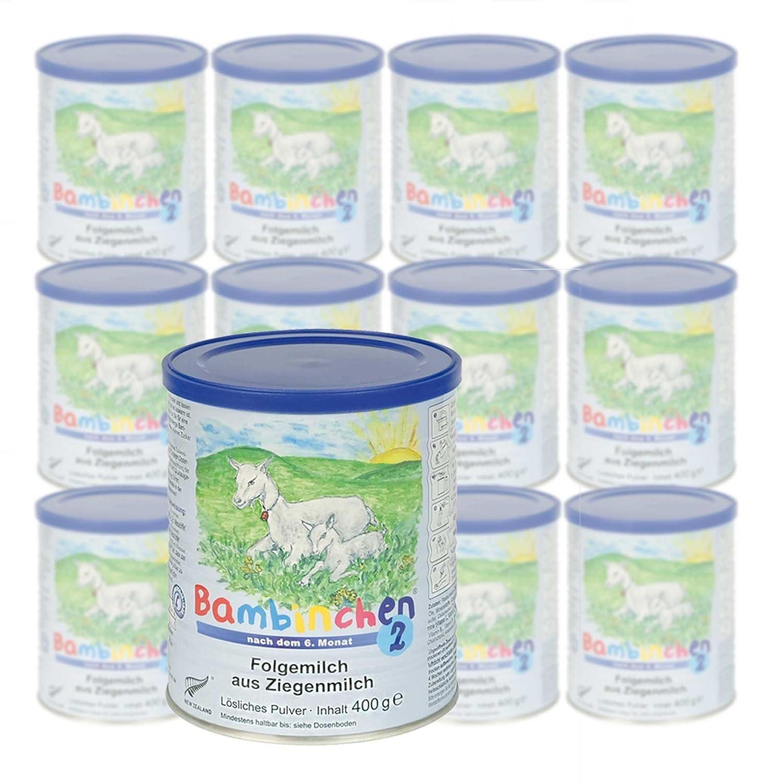 Säuglingsnahrung Bambinchen 2 günstig im Sparpack online kaufen - 12er Pack (12 x 400g)