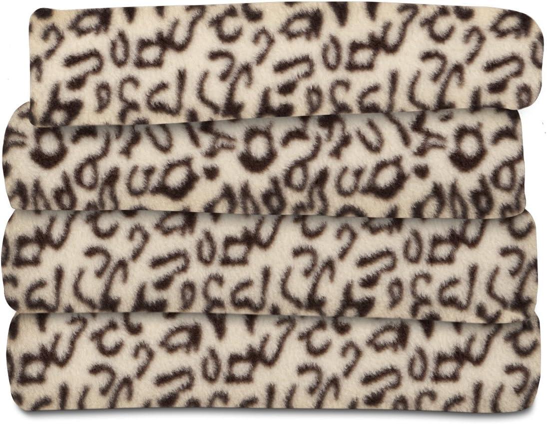 Sunbeam Heated Throw Blanket   Fleece, 3 Heat Settings, Cheetah - TSF8TP-R906-33A00: Home & Kitchen