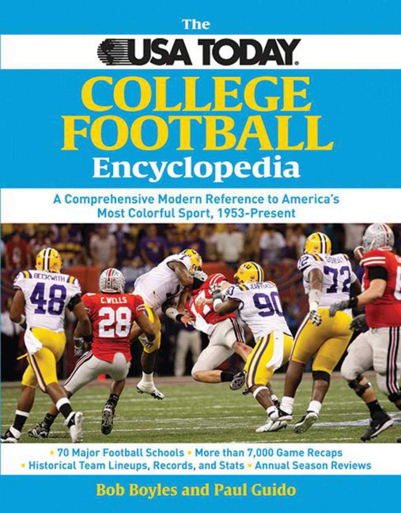The Usa Today College Football Encyclopedia A Comprehensive Modern