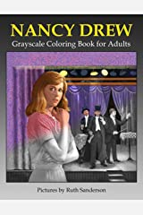 Nancy Drew Grayscale Coloring Book for Adults Paperback