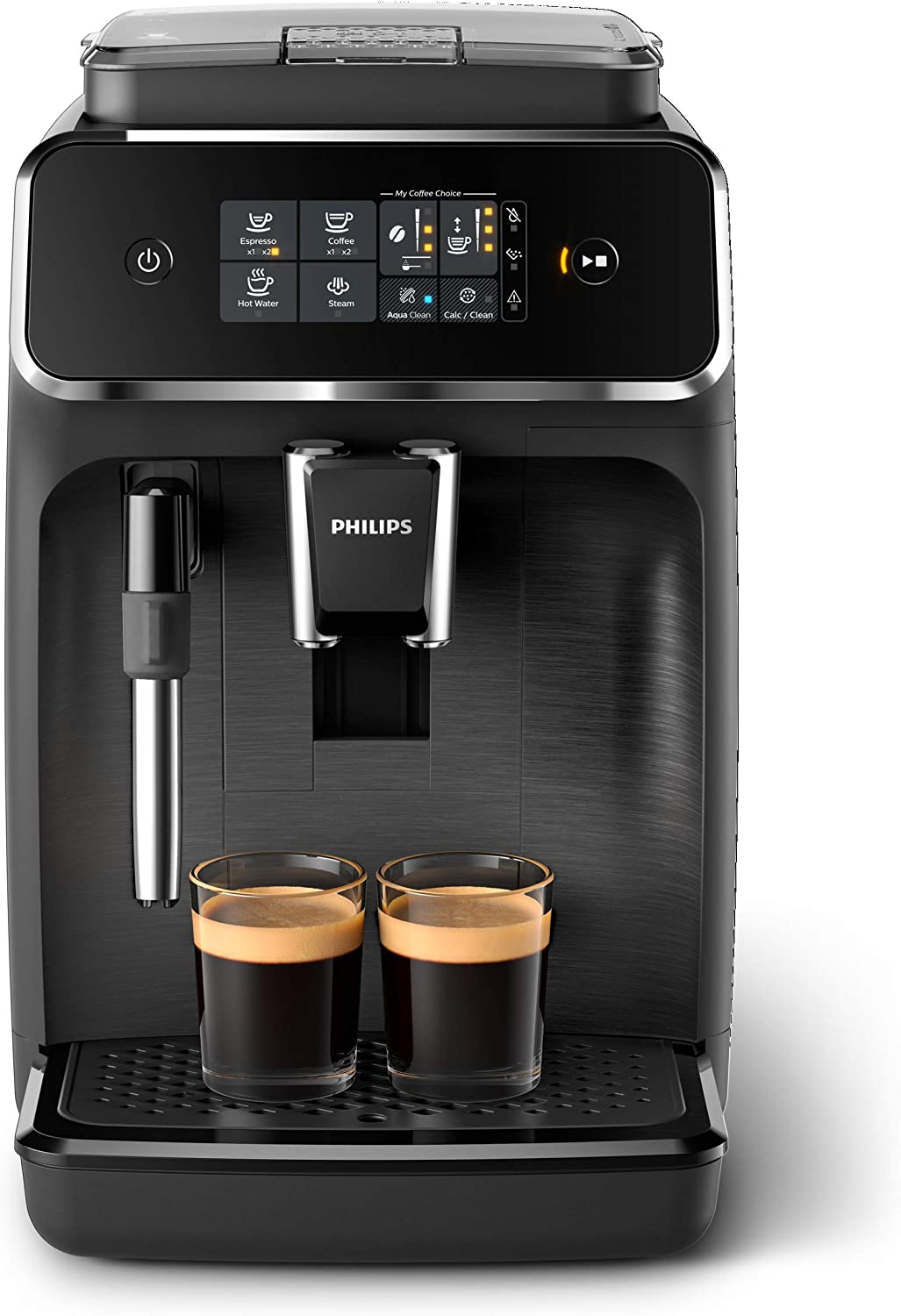 Philips EP2220/10 Cafetera superautomática, Acero Inoxidable, Negro Mate: Amazon.es: Hogar