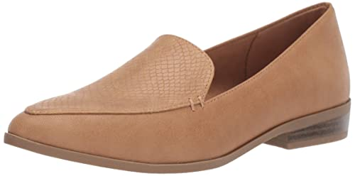 Dr. Scholl's Shoes Women's Astaire Loafer, Nude Smooth, 9 M US best women's dressy flats