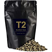 T2 Tea Buddhas Tears Green Tea, Loose Leaf Green Tea in Resealable Foil Refill Bag, 100 g