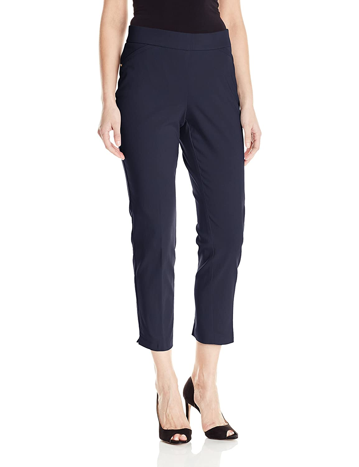 Briggs Womens Super Stretch Millennium Slimming Pull-on Ankle Pant 589ASA3BR