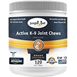 Jungle Pet Active K-9 Joint Chews - with {Chondroitin, Glucosamine, MSM} - Powerful & Effective
