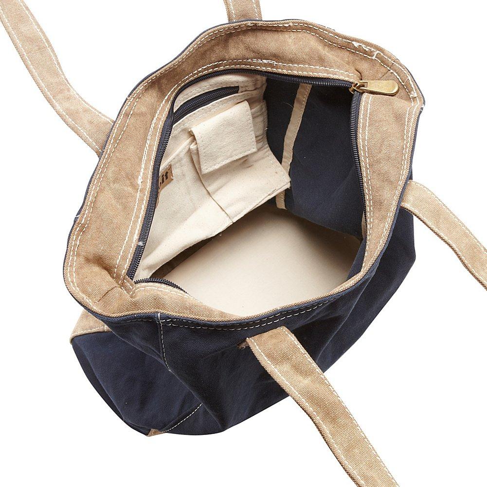 Cargoit Ashbury Large Cotton Canvas Shoulder Tote 5030