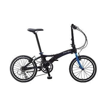 Dahon VISC D18 18-velocidades negro/azul de aluminio-bicicleta plegable