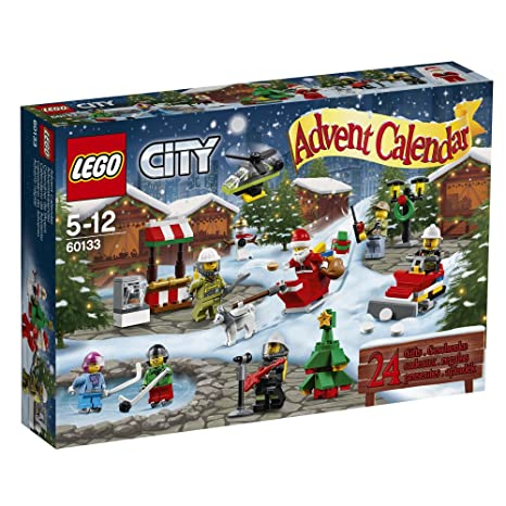 Calendrier City.Lego 60133 City Jeu De Construction Calendrier De L Avent