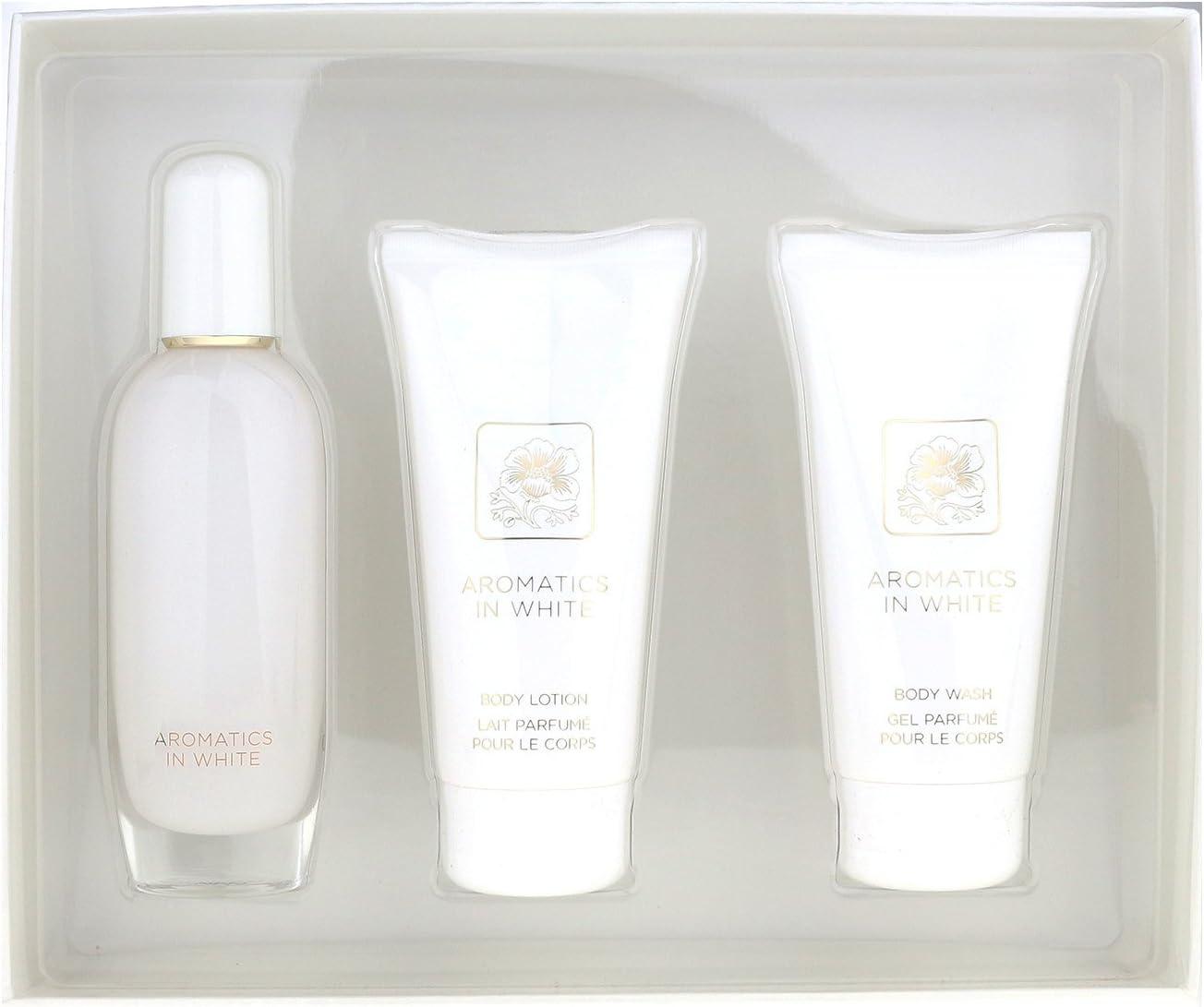 Clinique - Estuche de regalo eau de parfum aromatics in white esssence: Amazon.es: Belleza