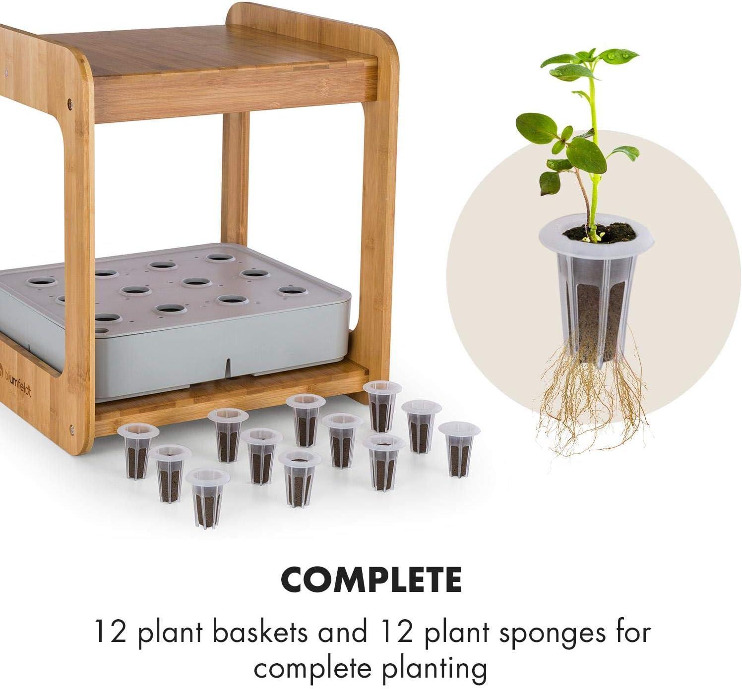 blumfeldt Urban Bamboo - Juego de Accesorios de 24 Piezas para el ...