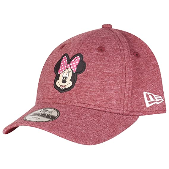 c0b3ca5ad5523 New Era - Minnie Mouse - Disney 9forty Adjustable Kids - Character Jersey -  Scarlet -