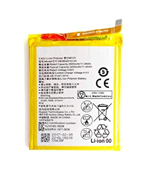 Todobarato24h Bateria para Huawei P9 / P9 Lite / P8 Lite 2017 / P10 Lite P20 Lite Y6 2018 Y7 2018 Y7 Prime 2018-3000 mAh hb366481ecw