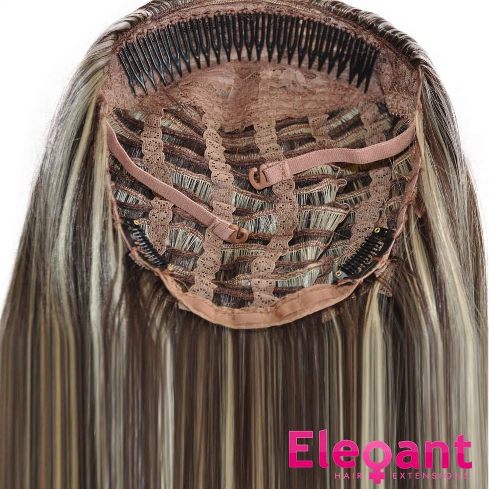 Amazon 22 ladies 34 wig half fall clip in hair extension amazon 22 ladies 34 wig half fall clip in hair extension straight jet black 1 beauty pmusecretfo Gallery