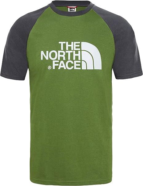 THE NORTH FACE TNF Raglan Easy T937FV15Q Cotton T-Shirt Short Sleeve Tee Mens