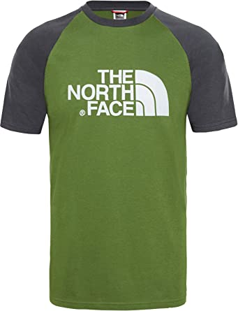 cf1d72228646 THE NORTH FACE Men's Raglan Easy Short Sleeve T-Shirt: Amazon.co.uk ...
