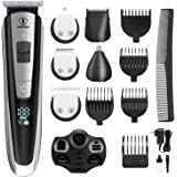 Ceenwes Men's Grooming Kit Professional Beard Trimmer Hair Clippers Hair trimmer Hair Design Trimmer Mustache trimmer…