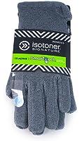 Isotoner Grey Oxford Heather smarTouch Stretch Fleece Gloves