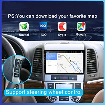 Hp Camp Android 9 1 Octa Core Navigationssystem Für Hyundai Santa Fe 2005 2012 Navigation Eingebaute Rückfahrkamera Carplay Unterstützt Bluetooth 5 0 Swc Online Offline Gps 4g Wifi 2g 32g Sport Freizeit