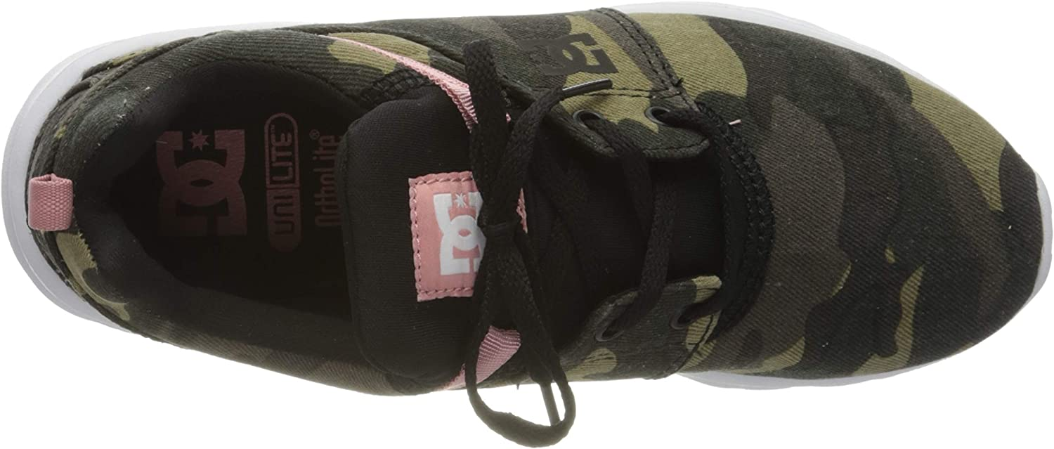 DC Shoes Damen Heathrow Tx Se Sneaker Mehrfarbig Camo Black Kco