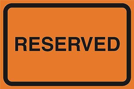 Amazon.com: Reservado Naranja hoja de zona de conducción de ...