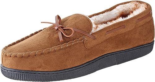 Urban Fox Mens Moccasin Slippers