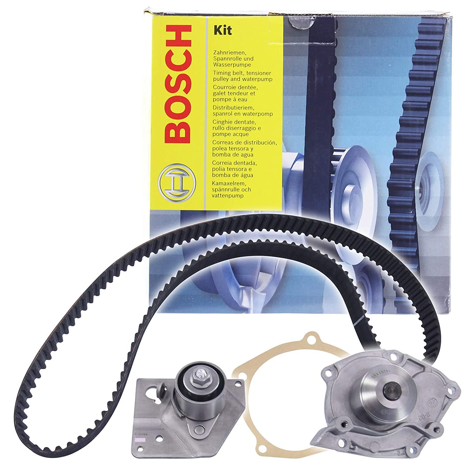 Amazon.com: BOSCH Timing Belt Kit + Water Pump Fits NISSAN Primera Traveller 1.9L 2002-: Automotive
