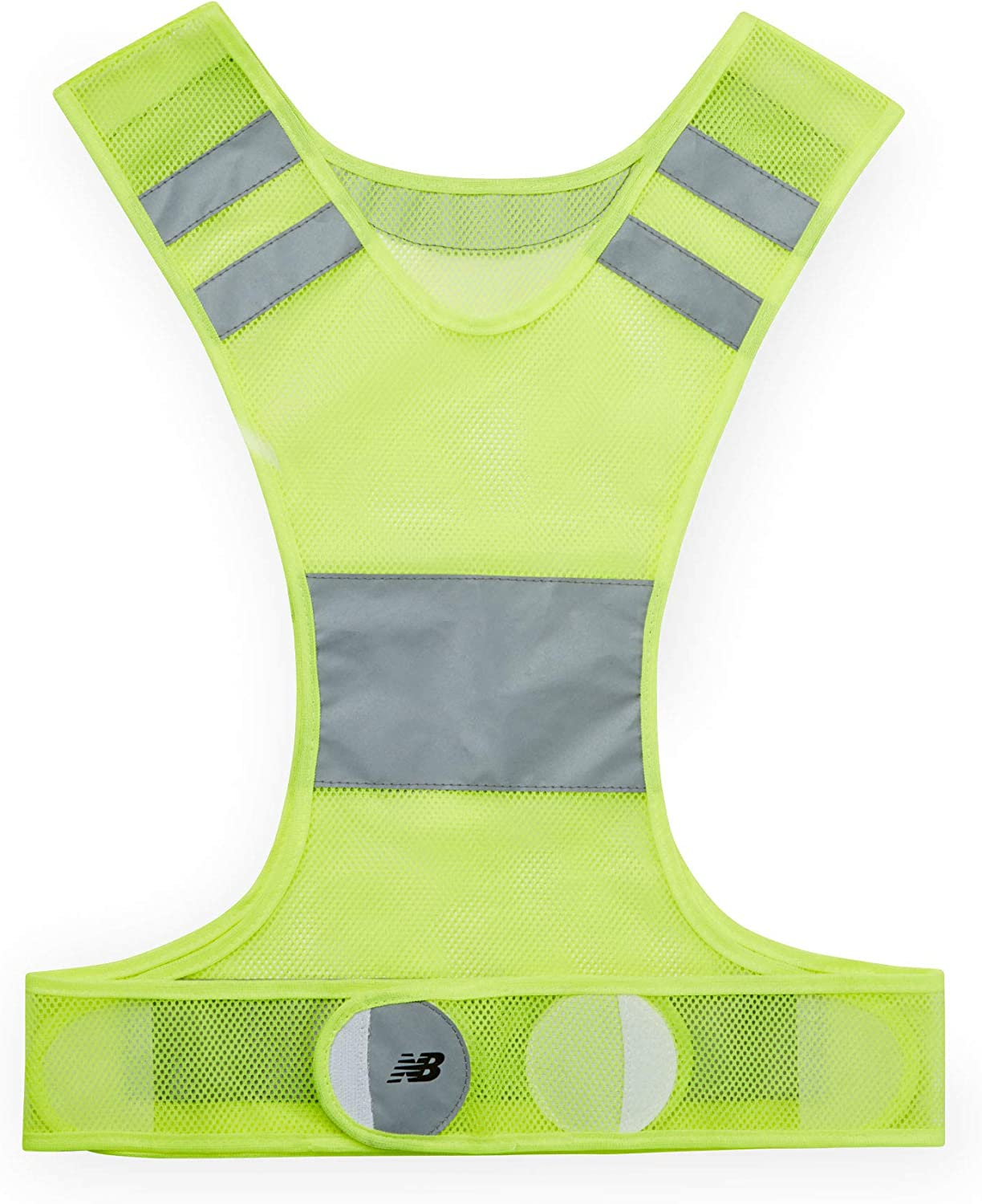 Visibility Neon Vest Reflective Belt Safety Vest Fits for Running Cycling NEW