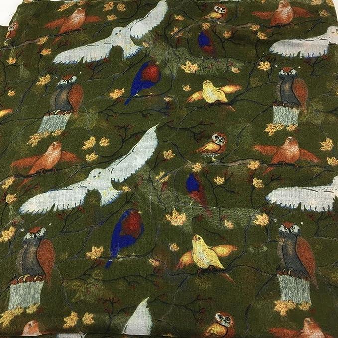 HUHU833 /Écharpes ch/âle foulards Femmes mode impression oiseau animaux longue /écharpe ch/âle Automne Hiver