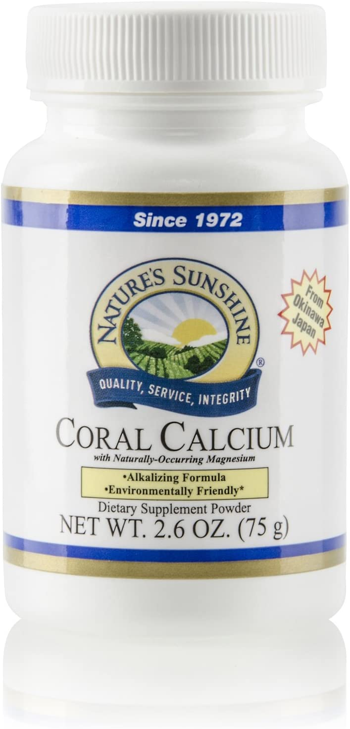Nature's Sunshine Coral Calcium 75g