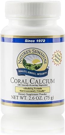 Nature's Sunshine Coral Calcium 75g